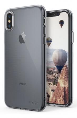 Husă Ringke Air Smoke Black pentru iPhone X0