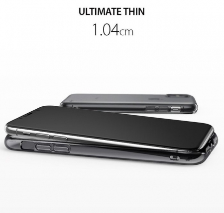 Husă Ringke Air Smoke Black pentru iPhone X3