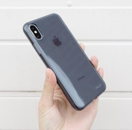 Husă Ringke Air Smoke Black pentru iPhone X1