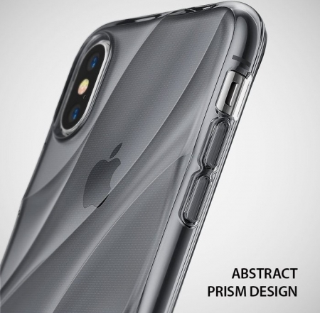 Husă Ringke Flow Smoke Black pentru iPhone X6