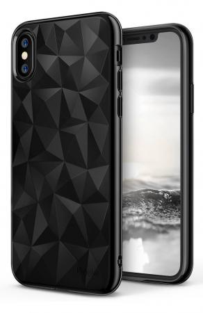Husă Ringke Prism Ink Black pentru iPhone X0