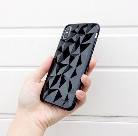 Husă Ringke Prism Ink Black pentru iPhone X1
