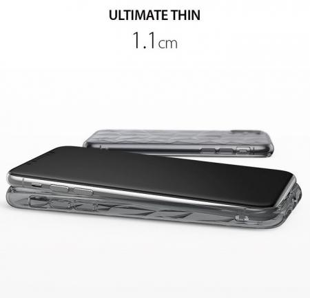 Husă Ringke Prism Smoke Black pentru iPhone X1