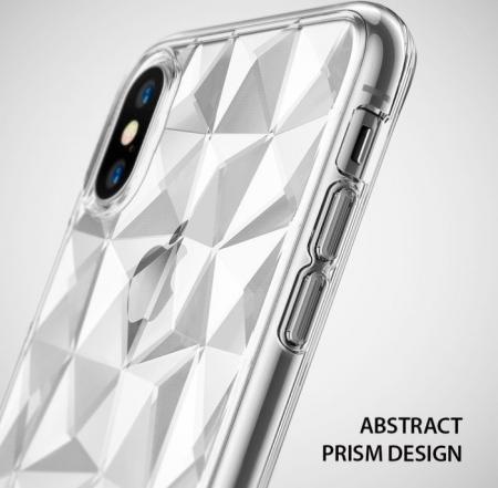 Husă Ringke Prism Clear pentru iPhone X0