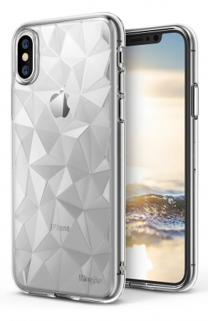Husă Ringke Prism Clear pentru iPhone X1