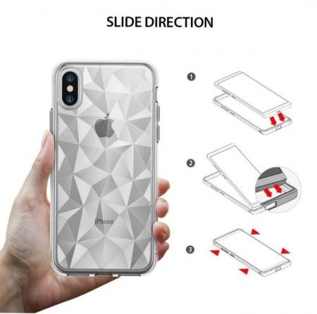 Husă Ringke Prism Clear pentru iPhone X2
