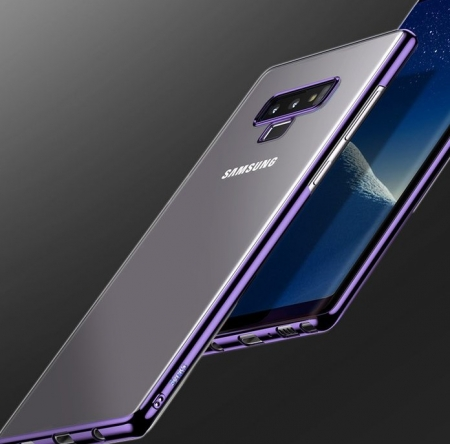 Husa Benks Electroplated transparent violet pentru Samsung Galaxy Note 94