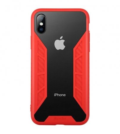 Husa Benks Future 3D Full ROSU pentru iPhone X0