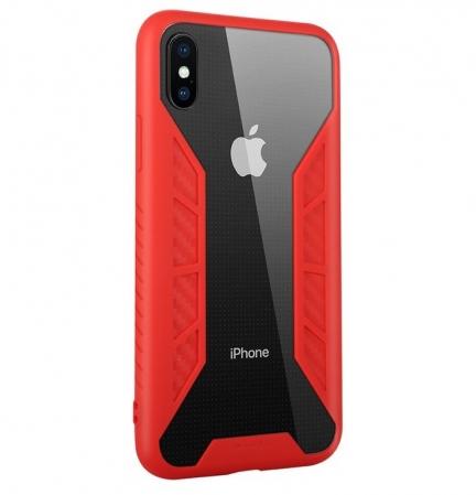 Husa Benks Future 3D Full ROSU pentru iPhone X1