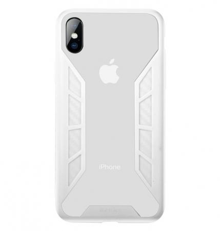 Husa Benks Future 3D Full ALB pentru iPhone X0