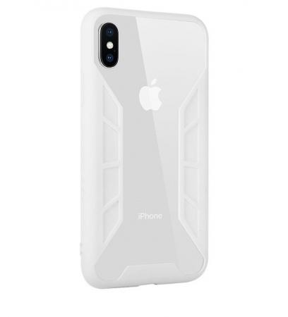 Husa Benks Future 3D Full ALB pentru iPhone X1