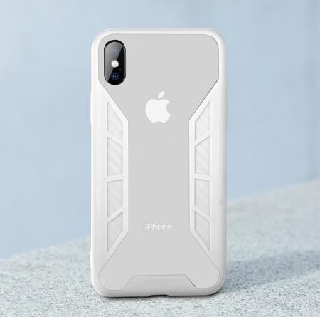Husa Benks Future 3D Full ALB pentru iPhone X3
