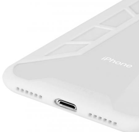 Husa Benks Future 3D Full ALB pentru iPhone X4
