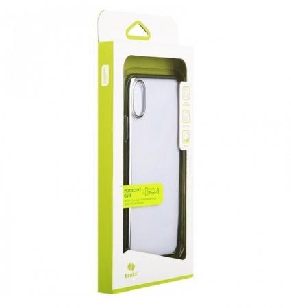 Husa Benks iPhone X Electroplated Negru pentru iPhone X8