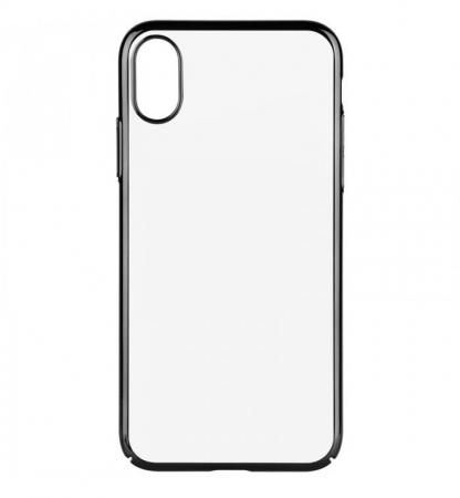 Husa Benks iPhone X Electroplated Negru pentru iPhone X1