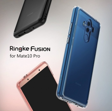 Husa Ringke FUSION CLEAR Transparent pentru Huawei Mate 10 PRO5