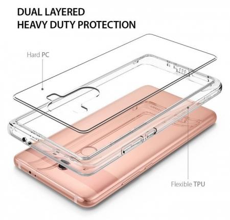 Husa Ringke FUSION CLEAR Transparent pentru Huawei Mate 10 PRO6