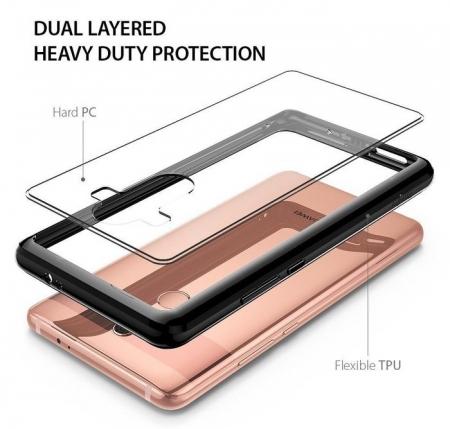 Husa Ringke FUSION INK BLACK pentru Huawei Mate 10 PRO1