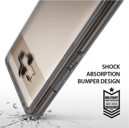 Husa Ringke FUSION  Transparent / Fumuriu pentru Huawei Mate 106