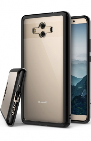 Husa Ringke FUSION Negru-Transparent pentru Huawei Mate 100