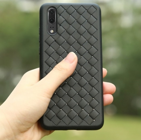 Husa Benks TPU Black impletita pentru Huawei P201