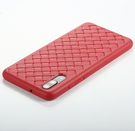 Husa Benks TPU Red impletita pentru Huawei P202
