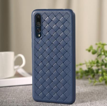 Husa Benks TPU Blue impletita pentru Huawei P20 Pro0