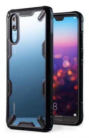 Husa Ringke FUSION X Black pentru Huawei P203