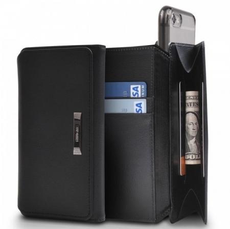 Husa Ringke WALLET NEGRU pentru  iPhone 6 / iPhone 6s4