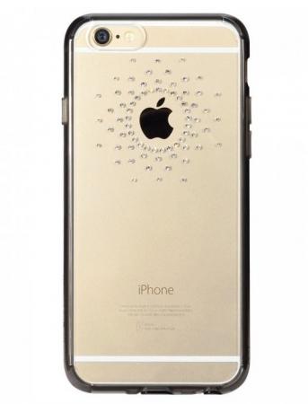 Husa Ringke NOBLE SWAROVSKI SUN FUSION SMOKE BLACK cu cristale premium SWAROVSKI pentru iPhone 6 Plus / 6s Plus0