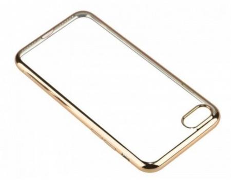 Husa  Benks Magic Glitz TRANSPARENT-AURIU pentru iPhone 7  iPhone 83