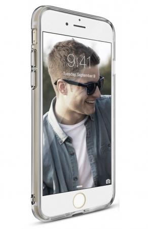Husa Ringke Air SMOKE BLACK pentru  iPhone 7  iPhone 85