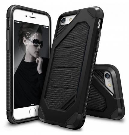 Husa Ringke ARMOR MAX BLACK pentru iPhone 7  iPhone 80