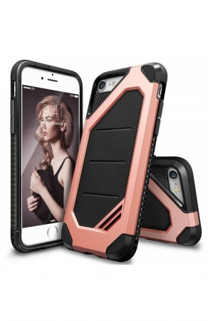 Husa Ringke ARMOR MAX ROSE GOLD pentru iPhone 7  iPhone 80