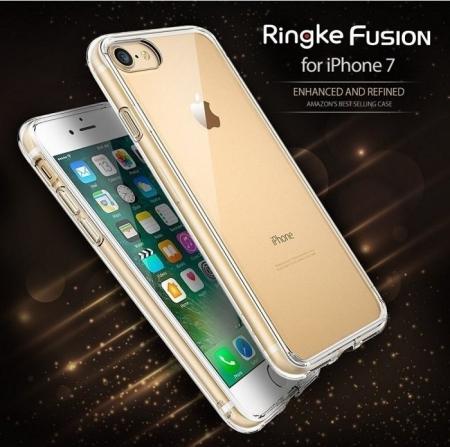 Husa Ringke FUSION ROSE GOLD pentru  iPhone 7  iPhone 80