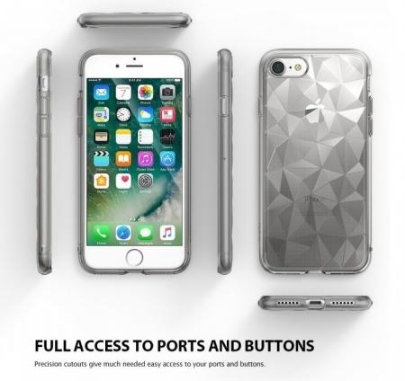 Husa Ringke PRISM SMOKE BLACK pentru iPhone 7  iPhone 88