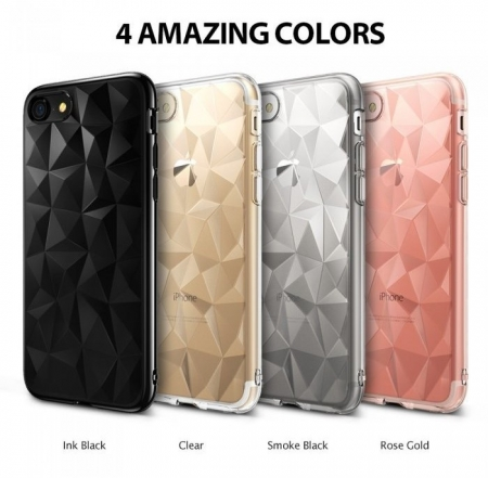 Husa Ringke PRISM SMOKE BLACK pentru iPhone 7  iPhone 86