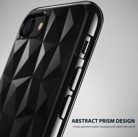 Husa Ringke PRISM SMOKE BLACK pentru iPhone 7  iPhone 85