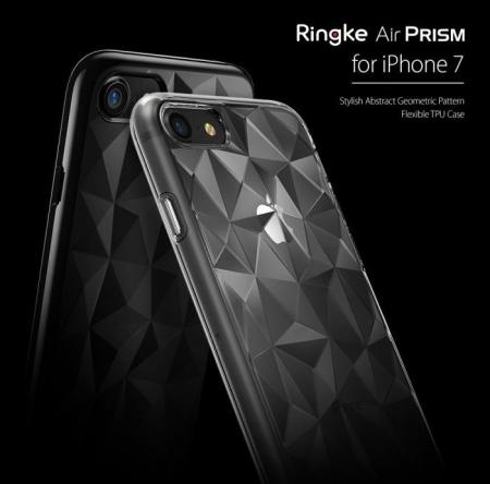 Husa Ringke PRISM SMOKE BLACK pentru iPhone 7  iPhone 84