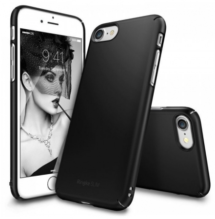 Husa Ringke Slim BLACK pentru iPhone 7  iPhone 80