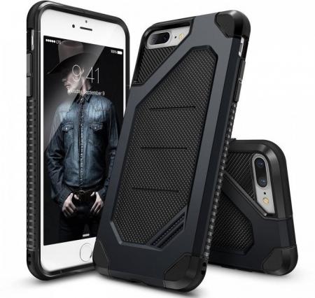 Husa Ringke ARMOR MAX SLATE METAL + BONUS folie protectie display Ringke pentru iPhone 7 Plus / iPhone 8 Plus7