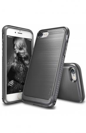 Husa Ringke ONYX MIST GRAY + BONUS folie protectie display Ringke pentru iPhone 7 Plus / iPhone 8 Plus7