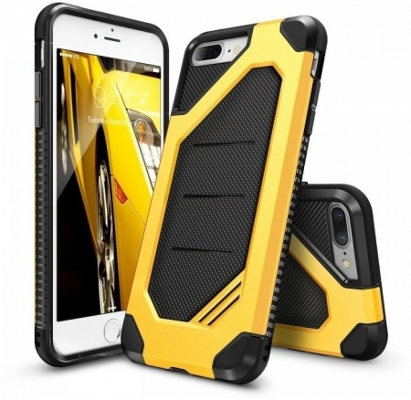 Husa Ringke ARMOR MAX BUMBLEBEE + BONUS folie protectie display Ringke pentru iPhone 7 Plus / iPhone 80