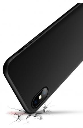 Husa iPhone X GKK 360 + folie protectie display pentru iPhone X1