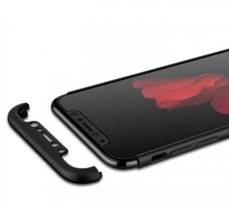 Husa iPhone X GKK 360 + folie protectie display pentru iPhone X3