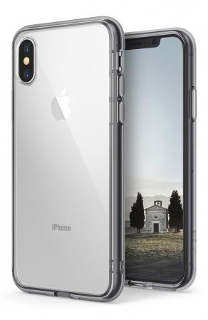 Husa Ringke Fusion Smoke Black pentru iPhone X8