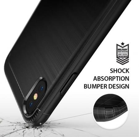 Husa Ringke Onyx Black pentru iPhone X3