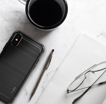Husa Ringke Onyx Black pentru iPhone X1