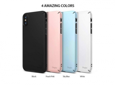 Husa Ringke Slim Black pentru iPhone X1