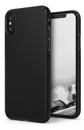 Husa Ringke Slim Black pentru iPhone X0